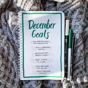 Tactical Bujo » December Goals