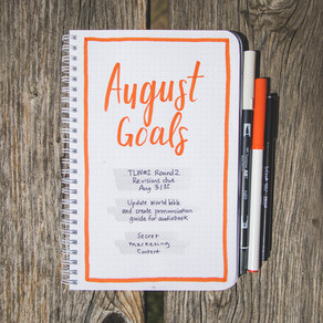Tactical Bujo » August Goals