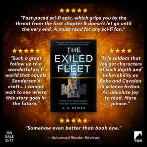 The Exiled Fleet Advanced Reader Reviews
