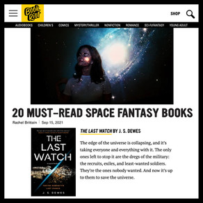 The Last Watch » BookRiot, 20 Must-Read Science Fantasy Books