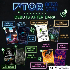 The Last Watch Launch Event: Debuts After Dark with Martha Wells