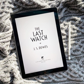 Publishing Quest » First Pass Pages for The Last Watch