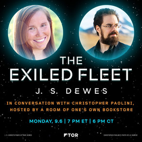 Events » J.S. Dewes in Conversation with Christopher Paolini