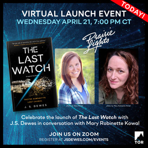 Events » The Last Watch Launch Event in Conversation with Mary Robinette Kowal