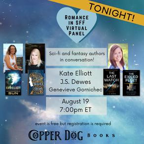 Events » Romance in SFF at Copper Dog Books