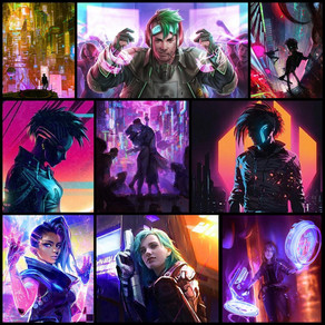 Story Aesthetics » Cyberpunk Rainbows