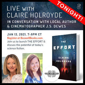 Events » In Conversation with Claire Holroyde, author of The Effort