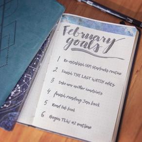 Tactical BuJo » February Goals