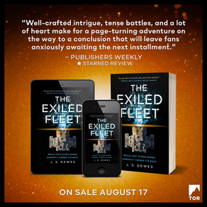 The Exiled Fleet » Publishers Weekly, Starred Review