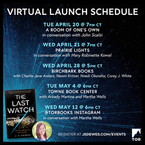 Events » Virtual Event Schedule for The Last Watch