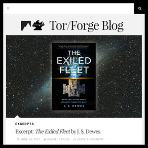 Read the First Chapter of The Exiled Fleet!