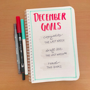 Tactical Bujo » December Goals