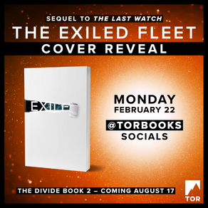 Publishing Quest » The Exiled Fleet Cover Reveal Coming Soon!