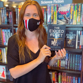 The Exiled Fleet Is Out Early at Barnes & Noble!
