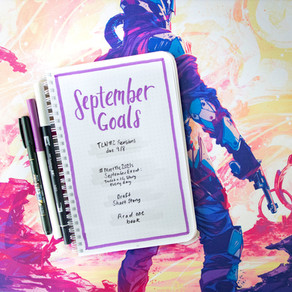Tactical Bujo » September Goals