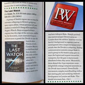 Publishing Quest » The Last Watch Review in Publisher's Weekly
