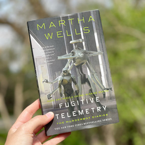 Reading Quest » Fugitive Telemetry by Martha Wells (Murderbot #6)