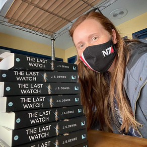 First Physical Book Signing for The Last Watch!