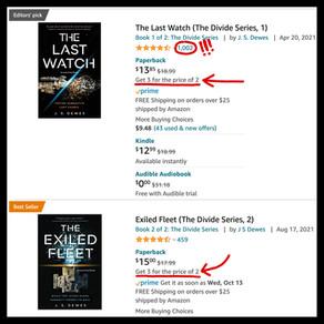 The Last Watch » 1000 Amazon Ratings!