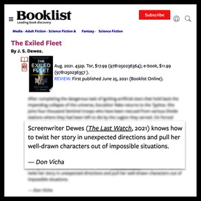 Booklist Review for The Exiled Fleet