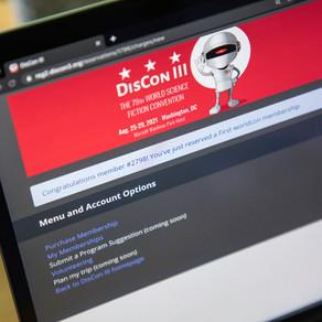 2021 Worldcon Incoming (aka DisCon III)