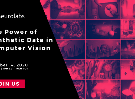 Webinar: Using the Power of Synthetic Data in Computer Vision
