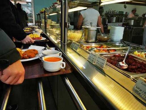 A vision to serve, foodservice checkout reimagined