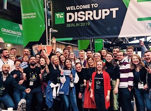 TechCrunch Disrupt Berlin 2019 – fostering the growth of Romanian tech scene
