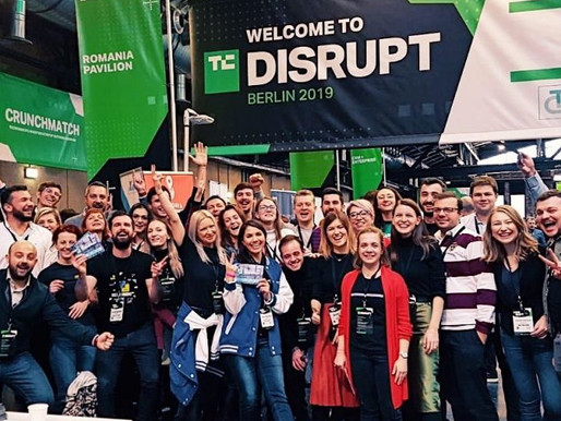 TechCrunch Disrupt Berlin 2019 – fostering the growth of Romanian tech scene
