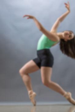 Dance class student
