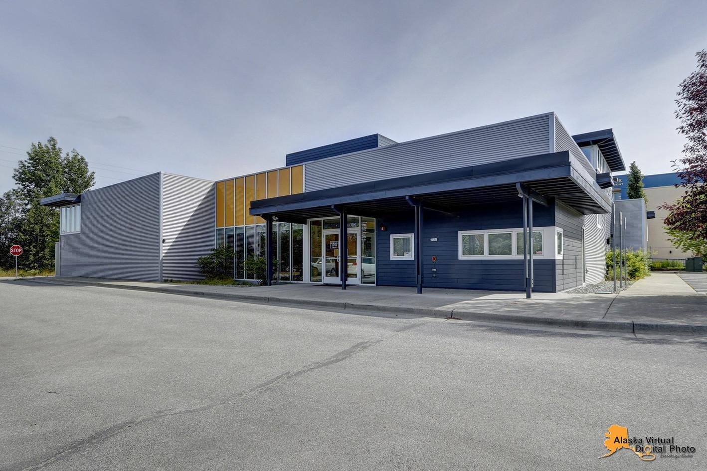 Large modern facility