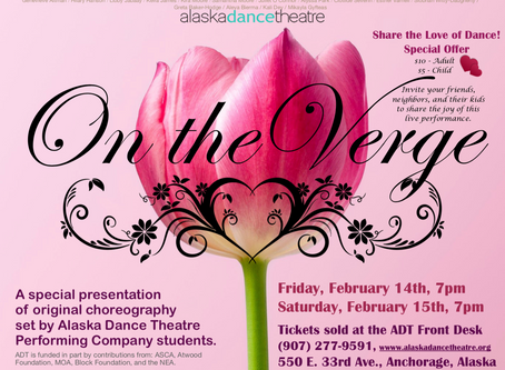 Share the Love of Dance this Valentine's Day - On the Verge at ADT - $10/Adult $5/Child