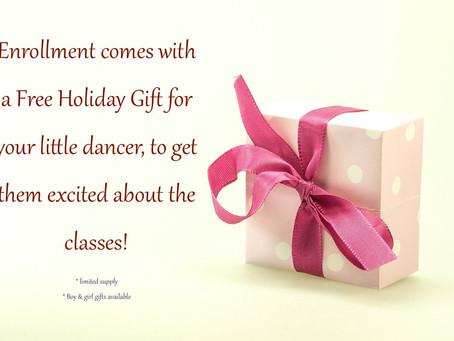 Happy Holidays! No Registration Fee + a Free Gift ❤️