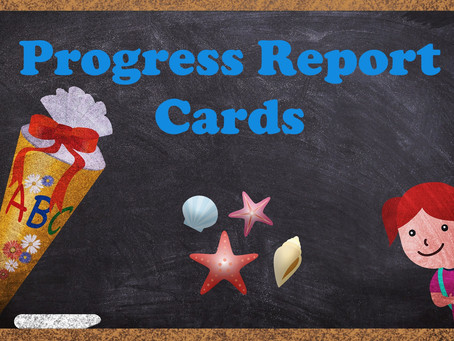 Progress Reports Coming this Week!