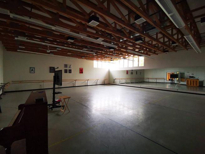 Spacious studio space