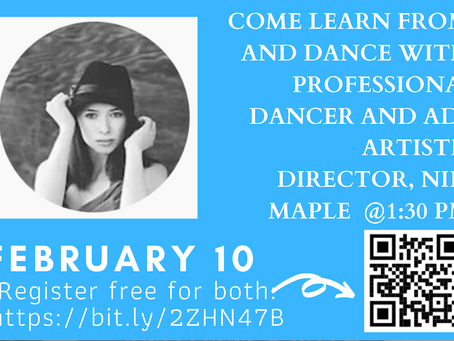 Join us for Education & Fun on Library Live this Wednesday, Feb 10th