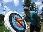 indiana archery, traditional archery, outdoor shooting range