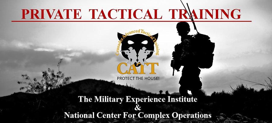 best tactical training, military training for civilians, catt