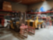 specialized interior demolition machinery