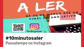 10 Minutos a Ler no Instagram - Vamos todos participar!