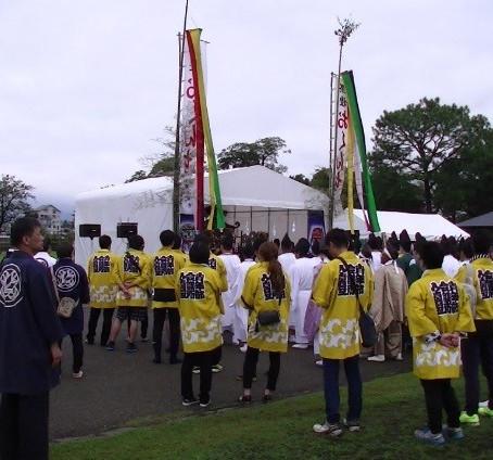 10月度例会「おくんち祭り」