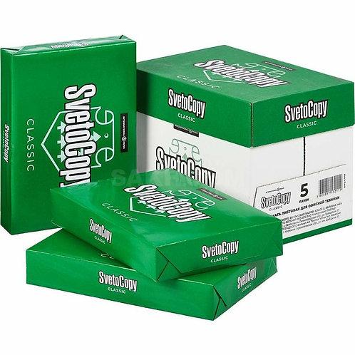 Бумага SvetoCopy A4, марка C, 80 г/кв.м, 500 листов