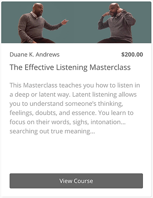 The Effective Listening Masterclass - Wi