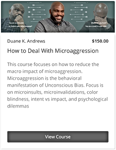 How to deal with Micoaggression - Widget