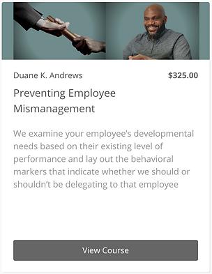Preventing Employee Mismanagement - Widg