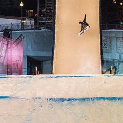 Big air went down yesterday in Quebec City.jpg Little frosty here to say the least.jpg Slopestyle qu