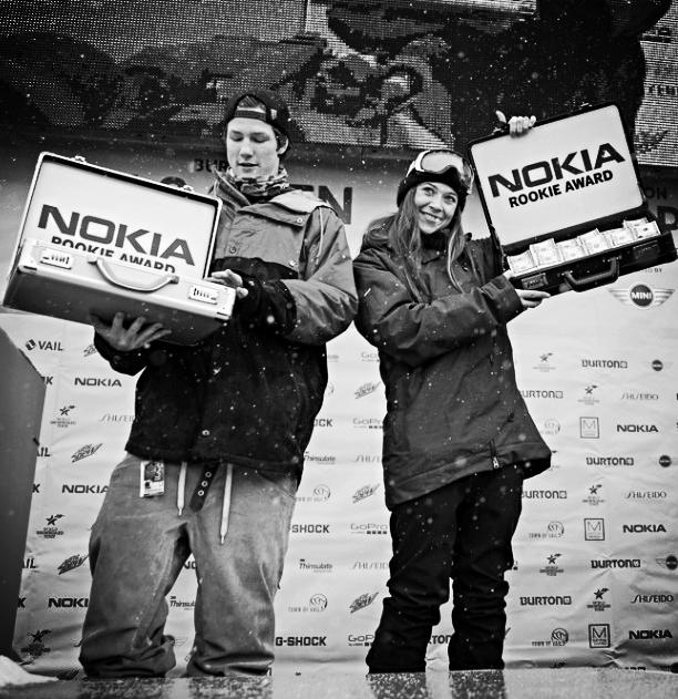 Nokia Rookie Award 2013 Burton USO