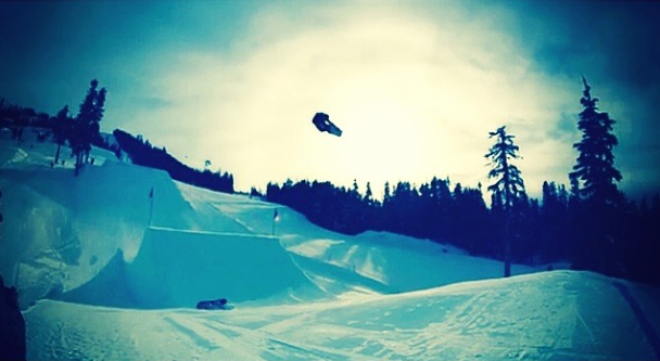 Whistler 2014 Backside 180