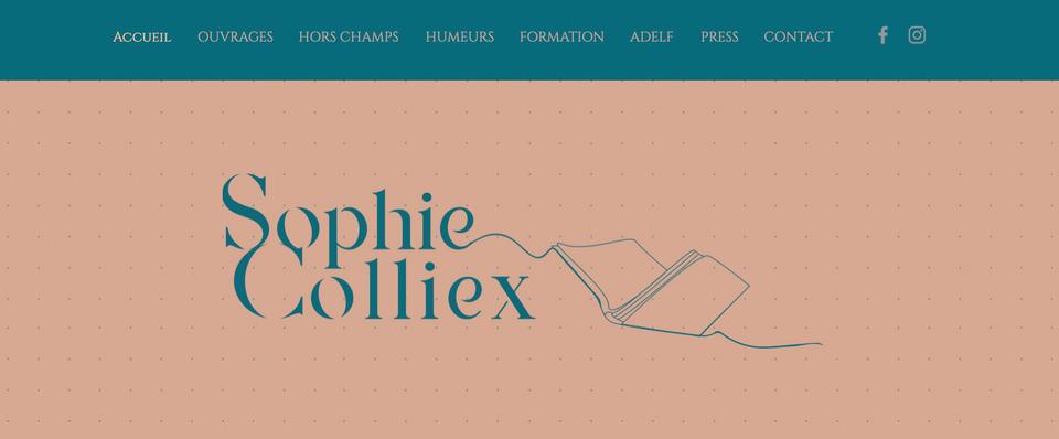 Web page d'accueil