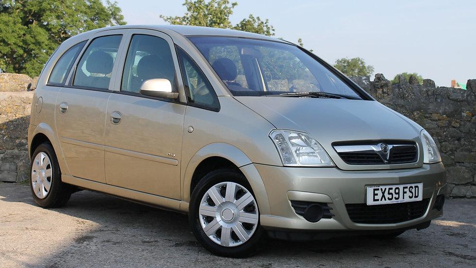 2009 Vauxhall Meriva Club 1.4 5dr